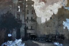 Pintura sobre ilusión pictórica