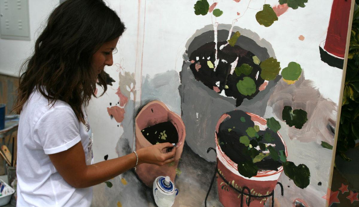 patricia-pintando