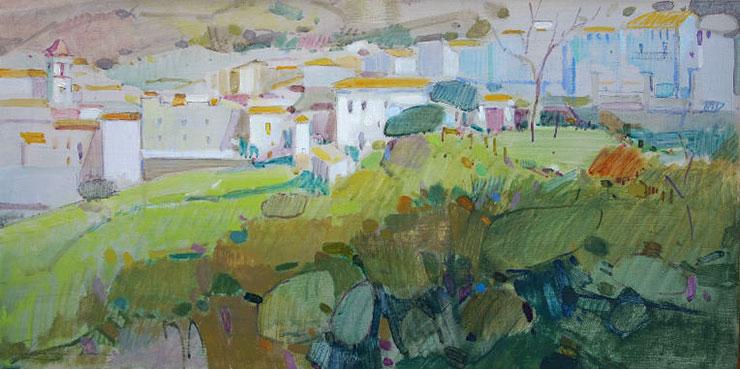 Exposici n de jos l angulo en cartagena pintores de ubrique - Pintores en cartagena ...