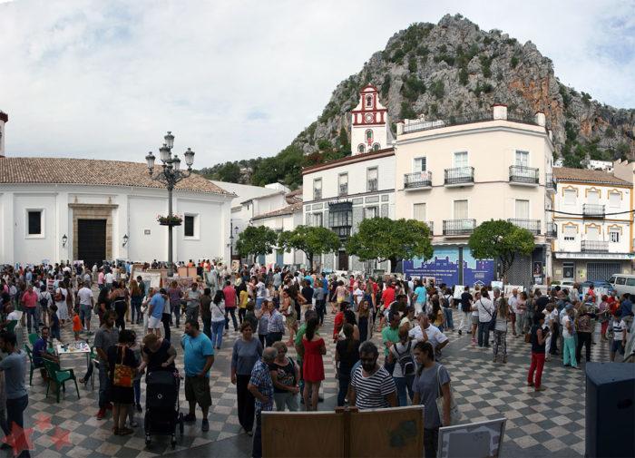 Aspecto de La Plaza durante la edición pasada