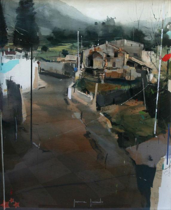 Jaime Jurado ganador del VI Concurso Pintura Rápida Pedro Lobato