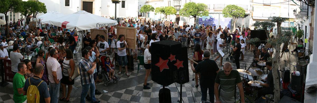 Exposición de las obras en La Plaza
