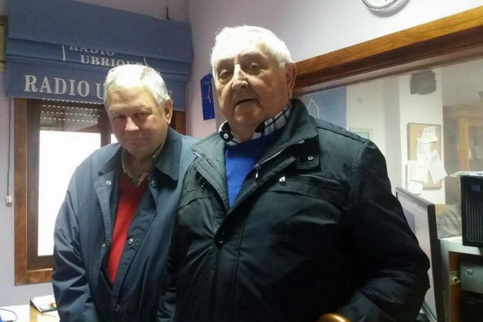 Bartolo Pérez y Antonio Gutiérrez en Radio Ubrique
