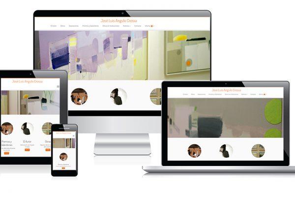 Nuevo aspecto de la web de José Luis Angulo