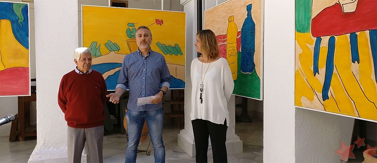 Inauguración de la exposición 'Algo diferente'