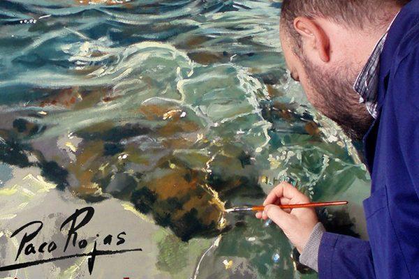 Exposición de Pinturas de Paco Rojas en Grazalema