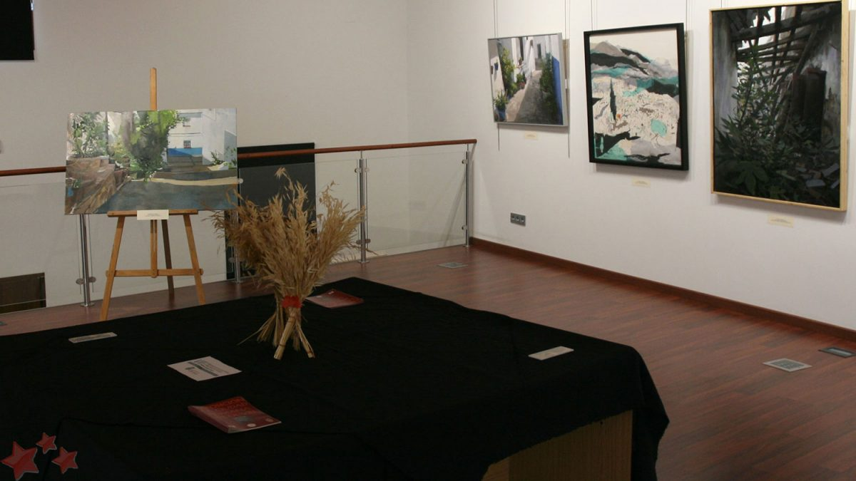 Exposición Obras Ganadoras Pintura Rápida 2017