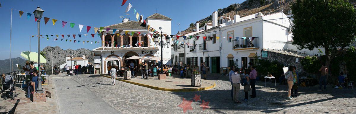 Plaza de San Antón durante la jornada
