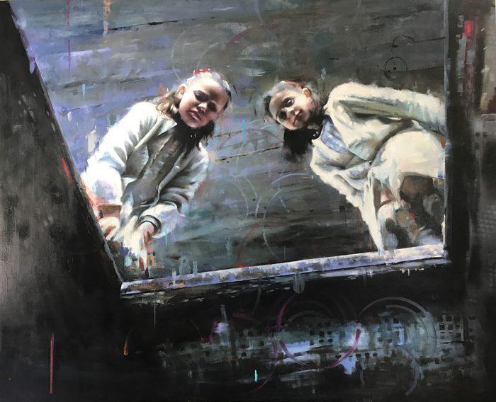 Obra de Juan Lucena premiada en el certamen (Foto cedida por el autor)