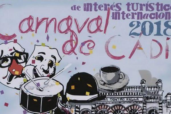 Cartel de Carnaval de Cádiz 2018