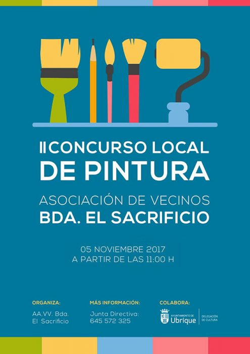 II Concurso Local de Pintura A.VV. Bda. El Sacrificio