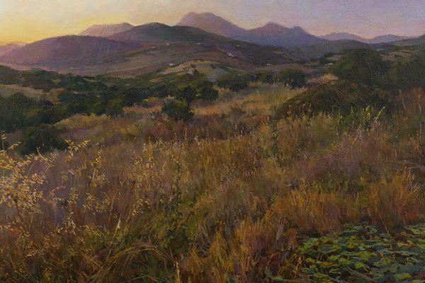 Pintura 'Valcargado' de José Luis Mancilla