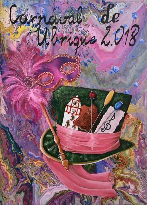 Cartel del Carnaval de Ubrique 2018