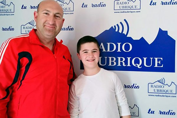 Edu Franco y Eduardo Franco en Radio Ubrique