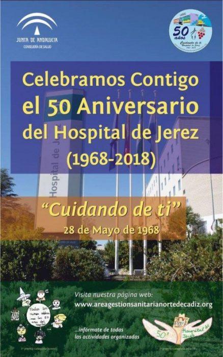 Display 50 aniversario Hospital de Jerez
