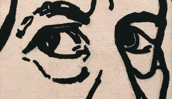 Detalle autorretrato de Agüera