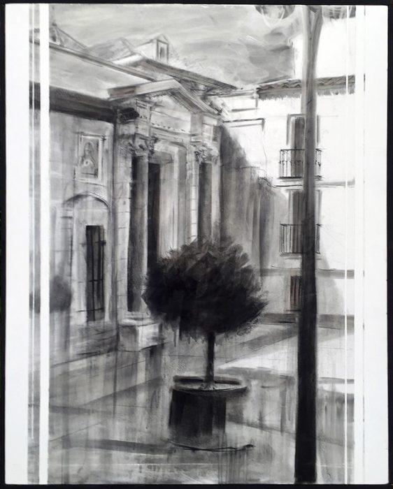 Obra de Paco Rojas premiada en Écija