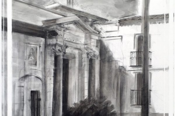 Detalle de la obra de Paco Rojas premiada en Écija