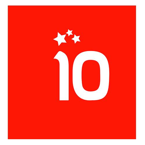 Logo 10º Aniversario