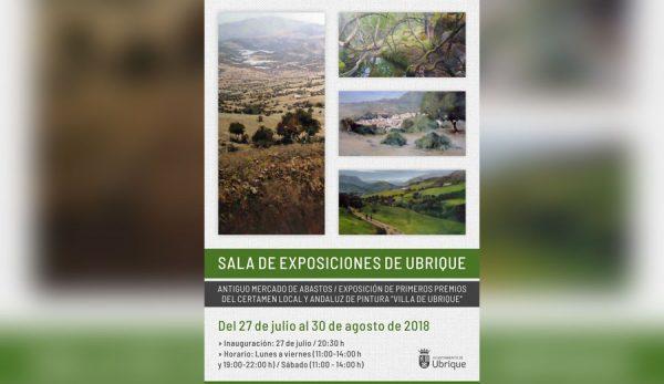 Cartel Sala de Exposiciones de Ubrique