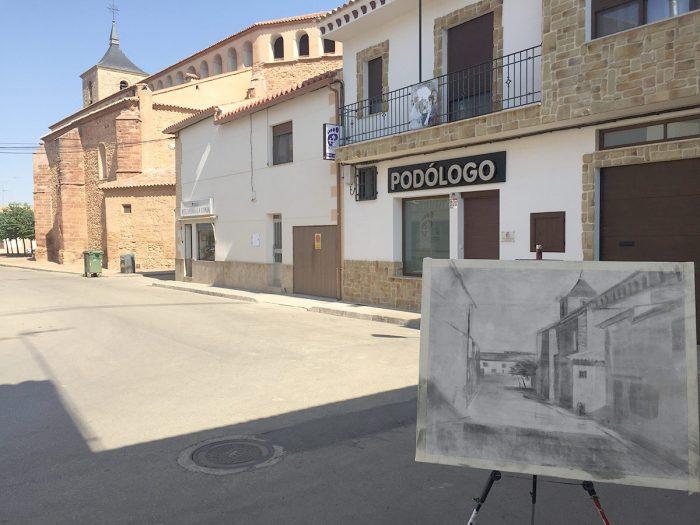 Obra de Paco Rojas en Membrilla