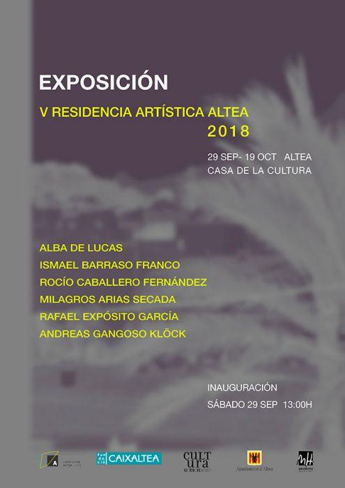 Cartel Exposición RAA 2018