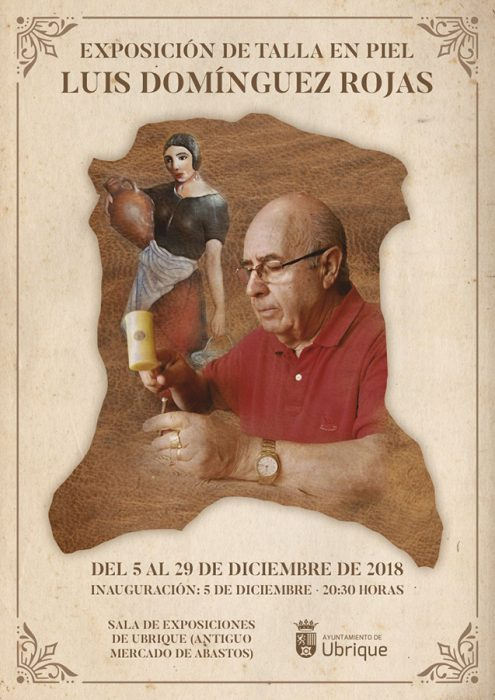 Cartel exposición de Luis Domínguez Rojas