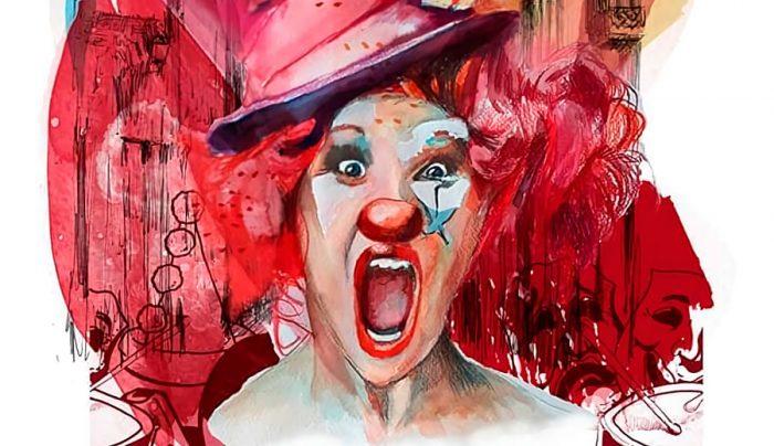 Detalle cartel Carnaval 2019, obra de Estefanía Hernández