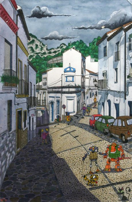 Obra de Nicolás Ortiz Ortega
