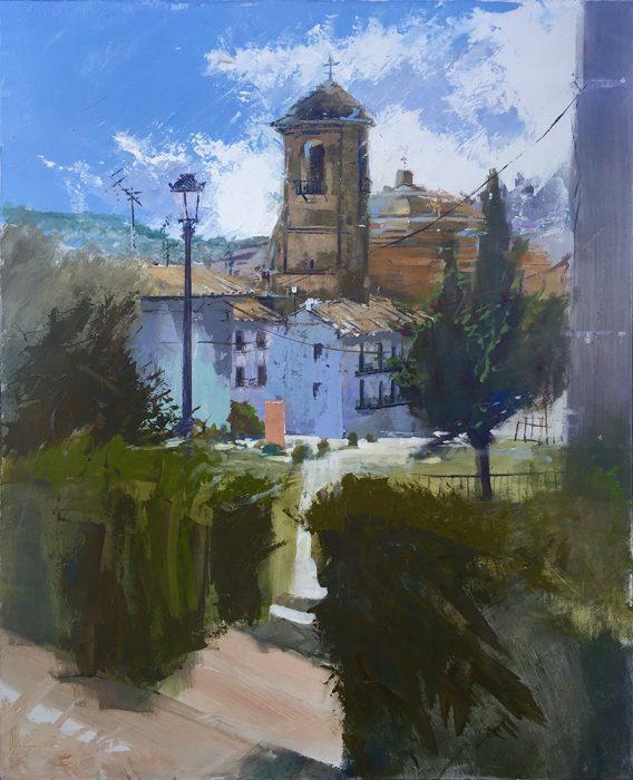 Obra de Paco Rojas premiada en Montefrío
