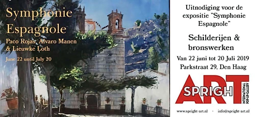 'Symphonie Espagnole' con Paco Rojas en Holanda