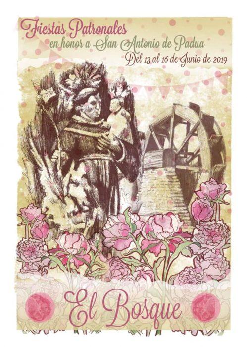 Cartel anunciador de las Fiestas de San Antonio