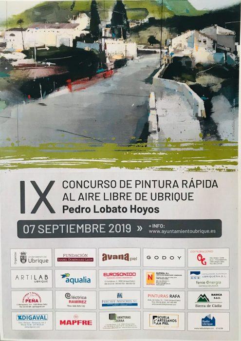 """IX Concurso de Pintura Rápida al Aire Libre de Ubrique """"Pedro Lobato Hoyos"""""""