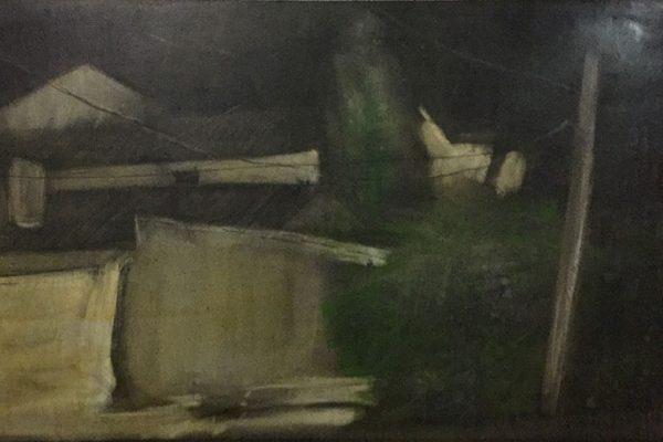 Detalle de la Obra de Paco Rojas premiada en San Clemente