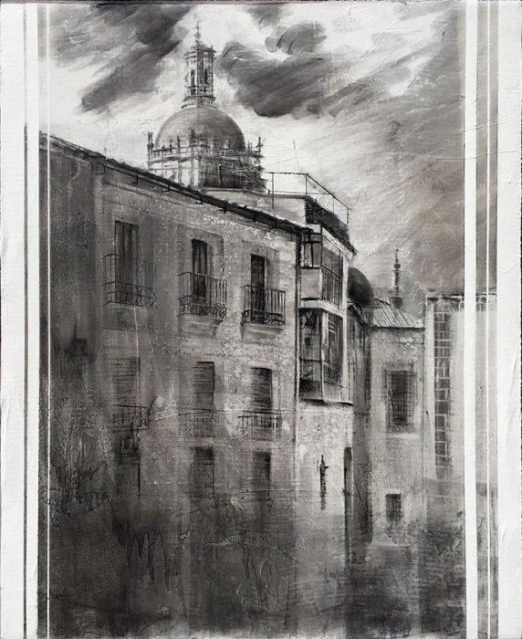 Obra premiada de Paco Rojas en Coria (Cáceres)