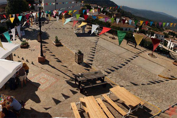 Aspecto de la Plaza de San Antón en 2018