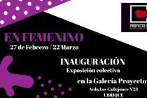 "Inauguración ""En Femenino"""