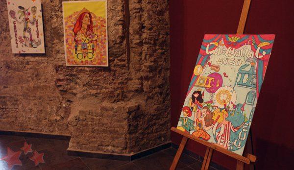 Exposición carteles Carnaval de Ubrique 2020
