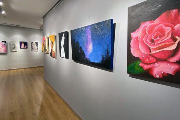 Exposición alumnos IES Las Cumbres