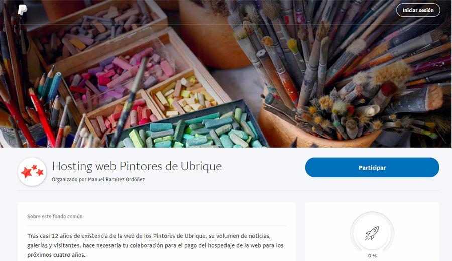 Apoyo web Pintores de Ubrique