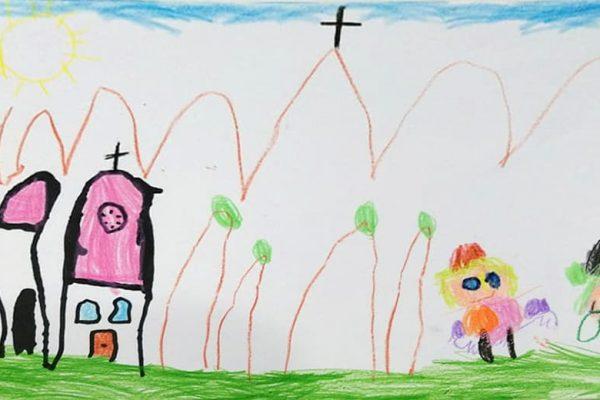 Dibujo premiado en el concurso