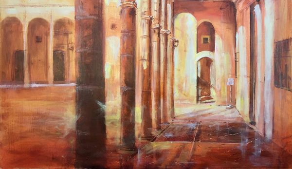 Obra de Paco Rojas premiada en Bornos