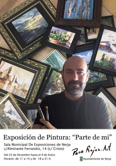 Exposición de Paco Rojas en Nerja