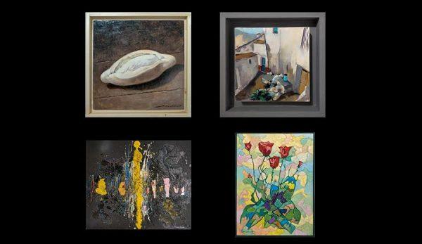 Obras donadas por los artistas