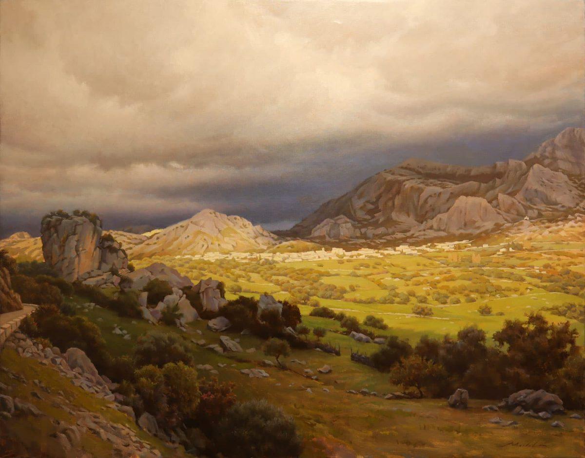 'Luz de Tarde' de José Antonio Martel Guerrero