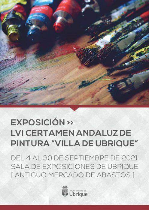 Cartel Certamen Andaluz de Pintura 2021
