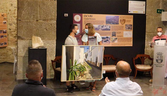 Antonio Barahona gana la pintura rápida en Ubrique